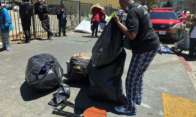Major operation in the Tenderloin begins to move homeless off the streets and into hotels (updated 4:45 p.m.)