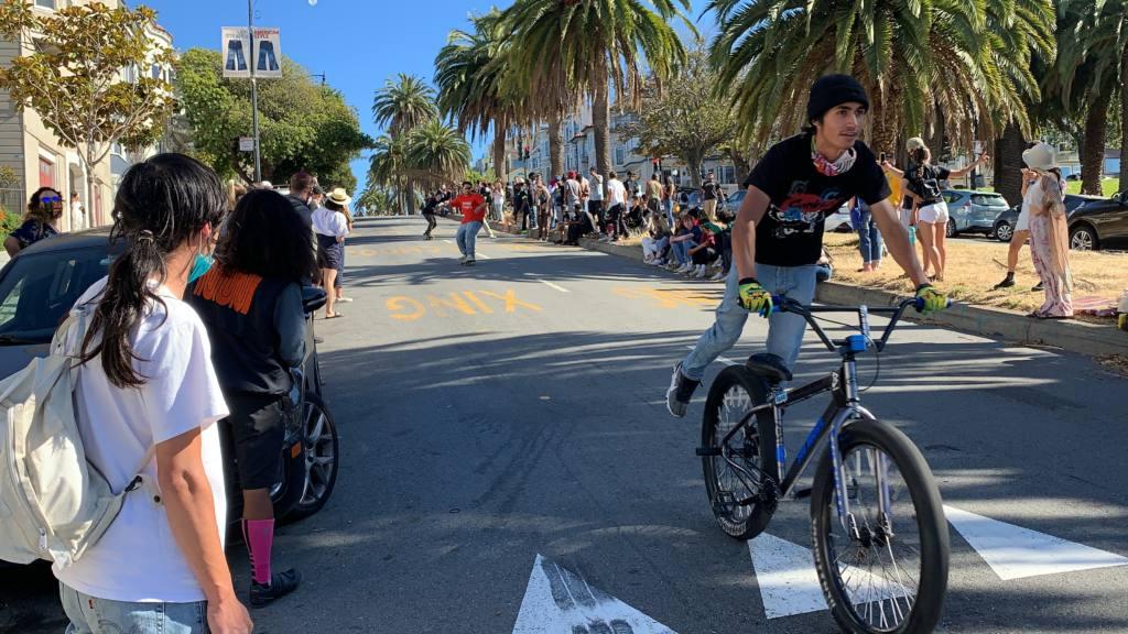 Fastest Hill Bomb -- by bike