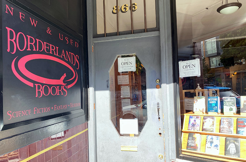 Alan Beatts to remain at Borderlands Books following abuse allegations