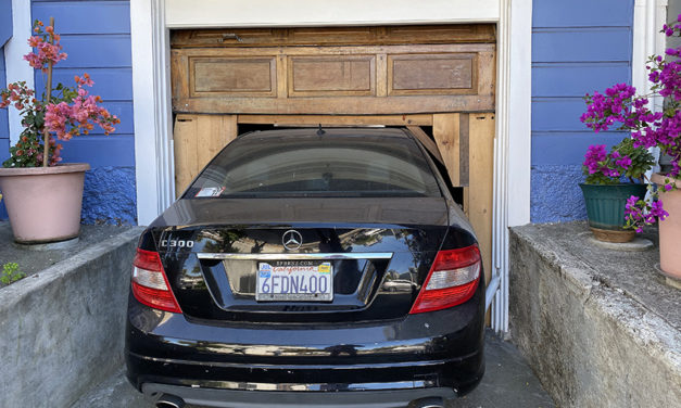 Snap: Precisely a one-car garage