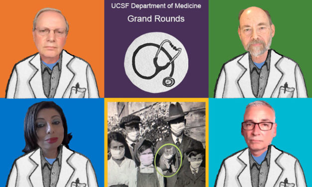 UCSF Grand Rounds tackles the questions of COVID-19 transmission and prevention with masks, face shields