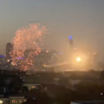 VIDEO: S F. fireworks from Bernal