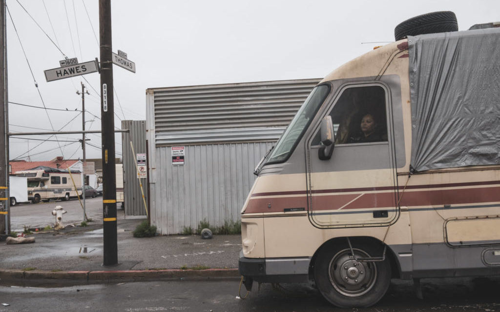 Photo essay: San Franciscans struggle to keep their mobile residences (SF Public Press)