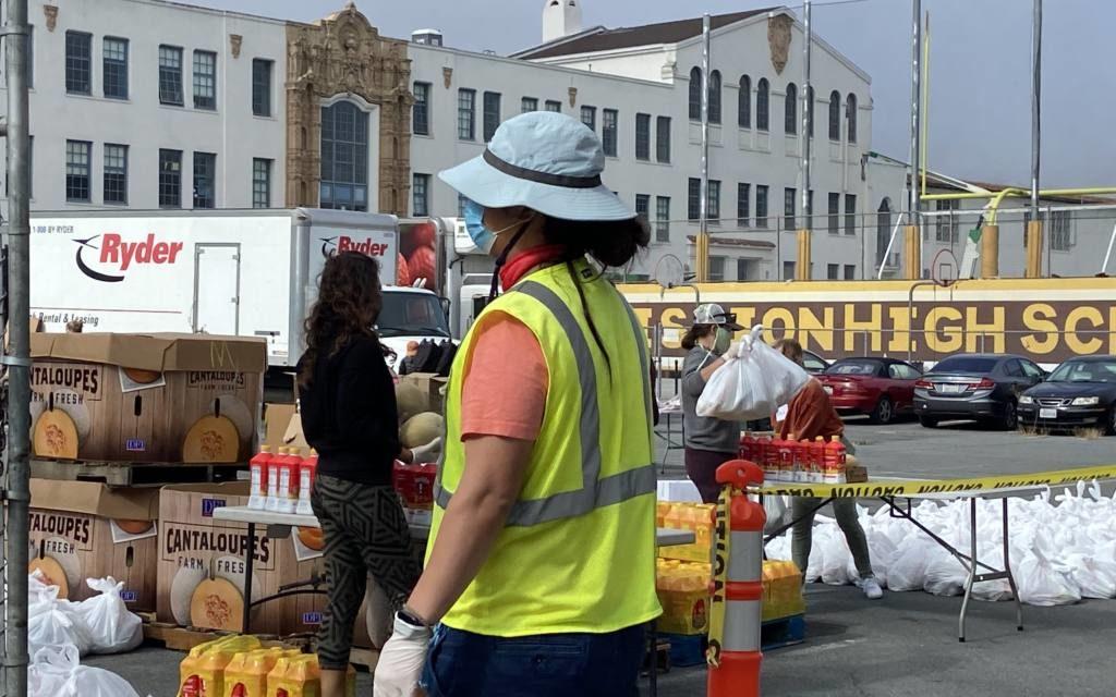 Food bank registration underscores city's growing food insecurity