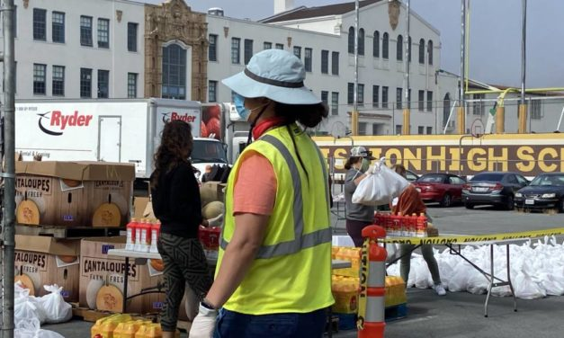 Food bank registration underscores city's growing food insecurity