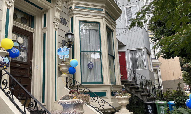 Snap: It's a boy on San Carlos – welcome!