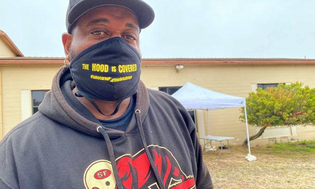 Gente de la comunidad, que conoce bien los proyectos de vivienda de Sunnydale, logra controlar un brote de COVID-19