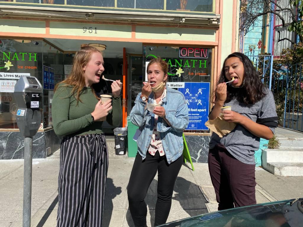 Snap: Ice cream break