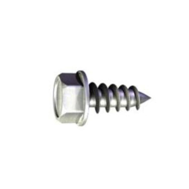 3/4 in x #10 Grabber Hex Head Yellow Zinc Drill Point Screw at