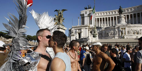 Europride Rome 2011 myGayTrip.com