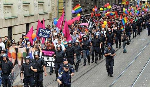 Zagreb gaypride myGayTrip.com