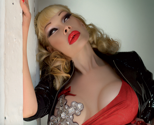 Amanda Lepore Amadeo Turello myGayTrip.com