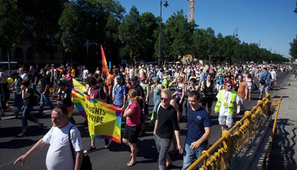 Gay pride Budapest 2010 myGayTrip.com