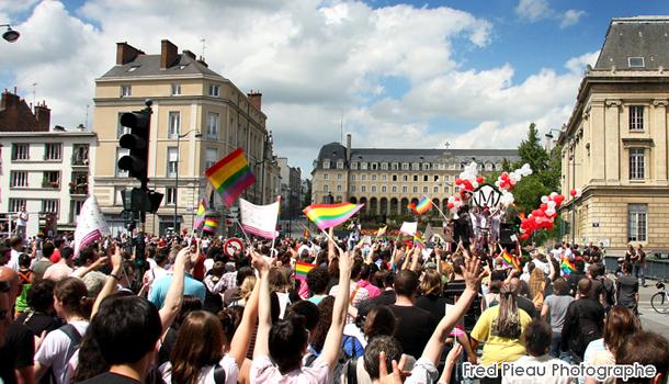 Gay pride Rennes myGayTrip.com