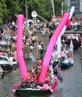 Amsterdam Canal Parade myGayTrip.com