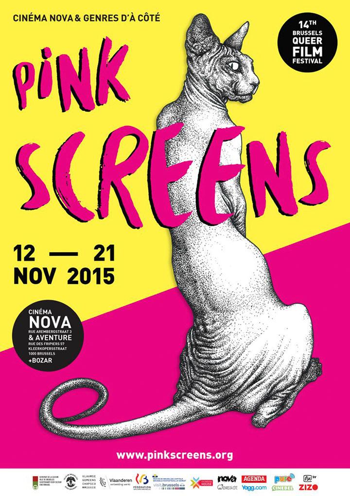 pink screens