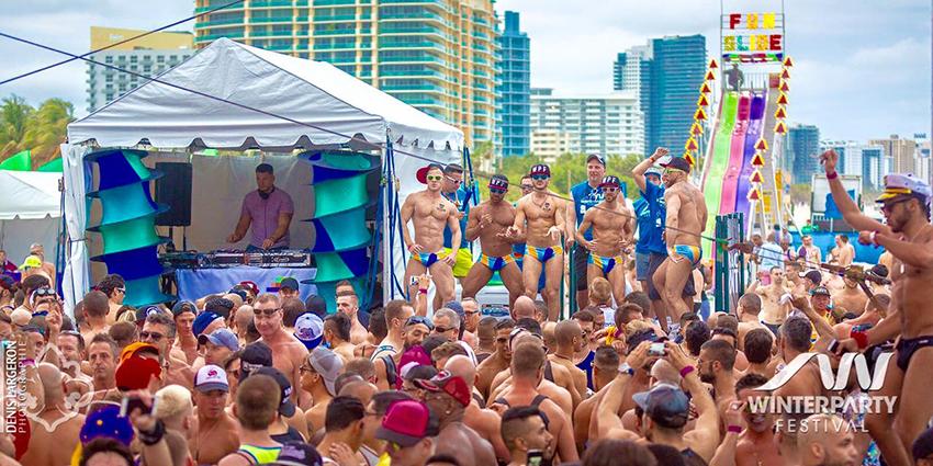 gay party © winter party miami
