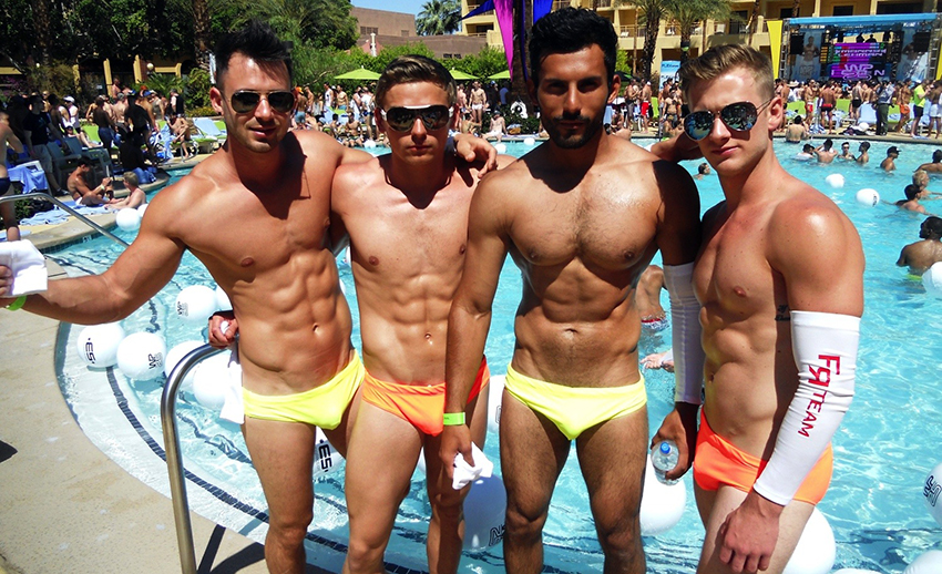 gay party © white party palm springs