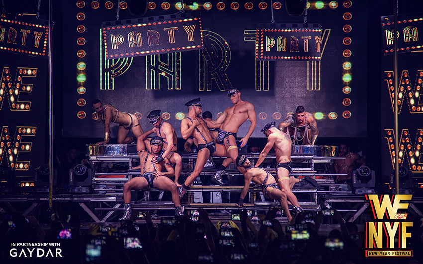 gay party © we party new year festival
