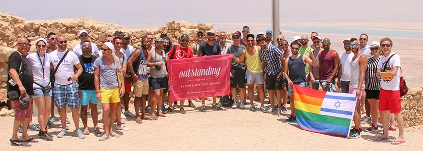 gay tour israël massada