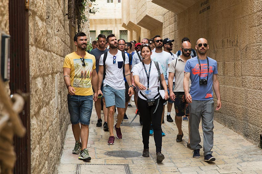 gay tour israël jerusalem