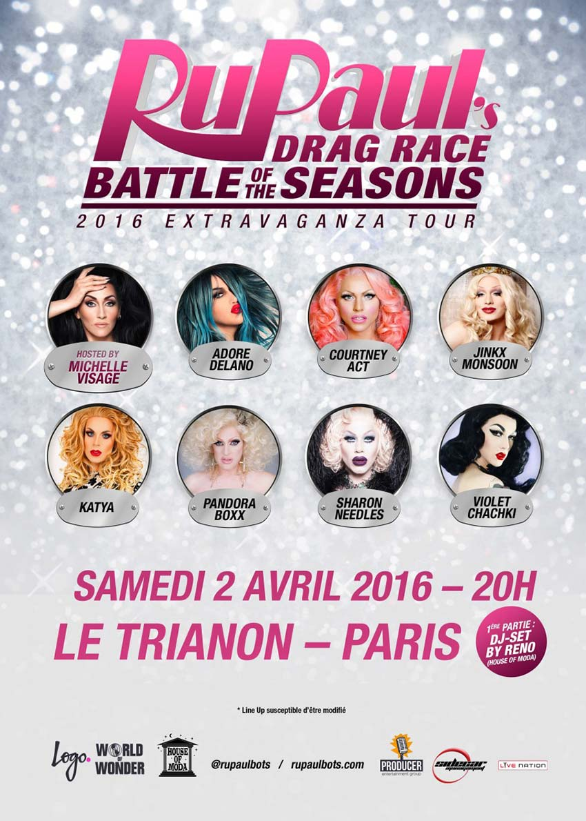 RuPaul's Drag Race Battle of the Seasons Paris