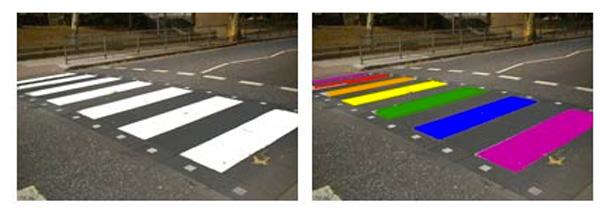 West Hollywood Rainbow Crosswalk myGayTrip.com