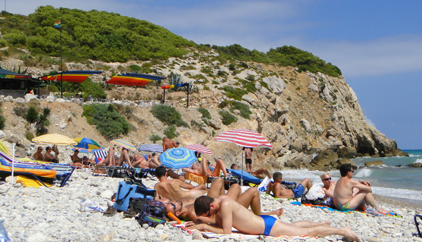 Sitges gay nude beach