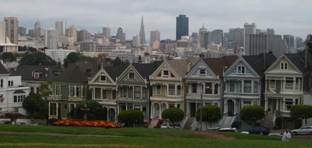 San Francisco Painted Ladies myGayTrip.com