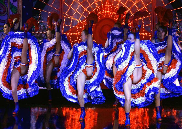 danseuses du moulin rouge
