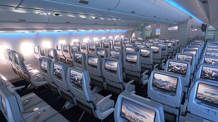 Finnair A350 XWB economy