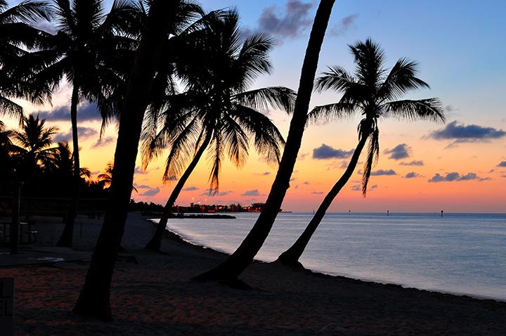 Gay beach Key West