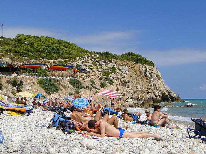Gay beach Sitges