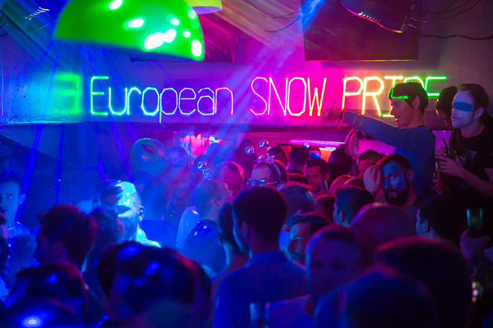 European Snow Pride 2016 tines gay event