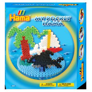1000 Hama Midi + pegboard isla