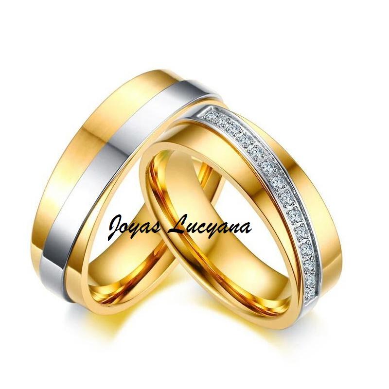 02d2d49eacd8 Joyas y Accesorios Lucyana Anillos de Compromiso Aros de Matrimonio ...