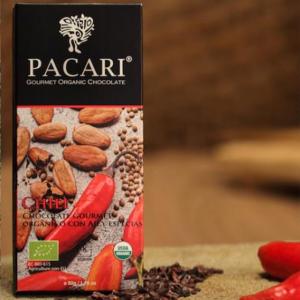 Barra de Chocolate con Ají x 50gr