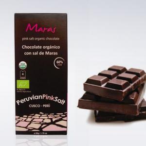 Barra de Chocolate con Sal de Maras x 50gr