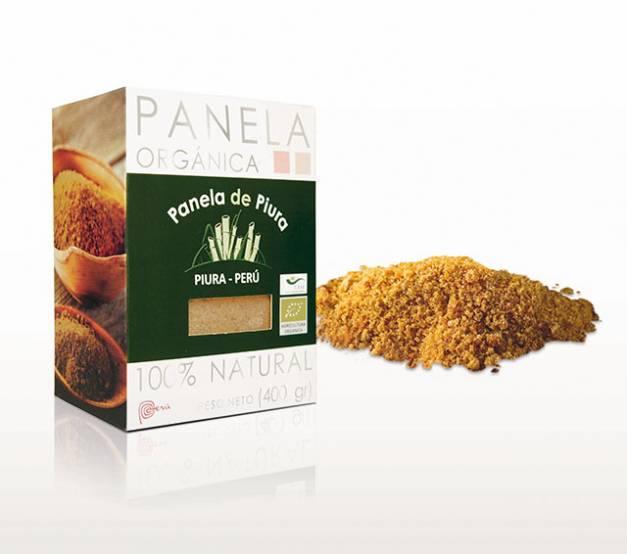 Panela Orgánica de Piura - Caja x 400gr.