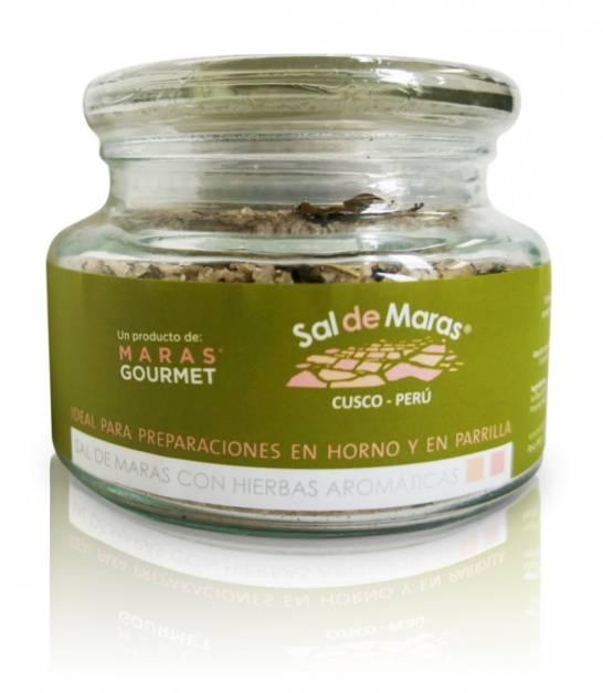 Sal de Maras con Especias - Frasco de Vidrio x 400gr