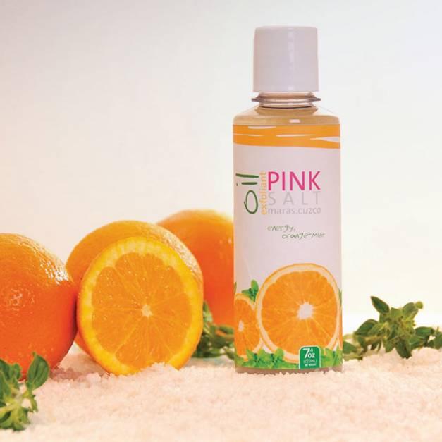 Aceite Exfoliante - Naranja Menta - Frasco x 220ml