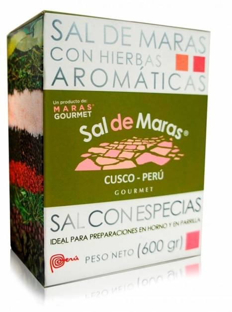 Sal de Maras con Especies - Caja x 600gr