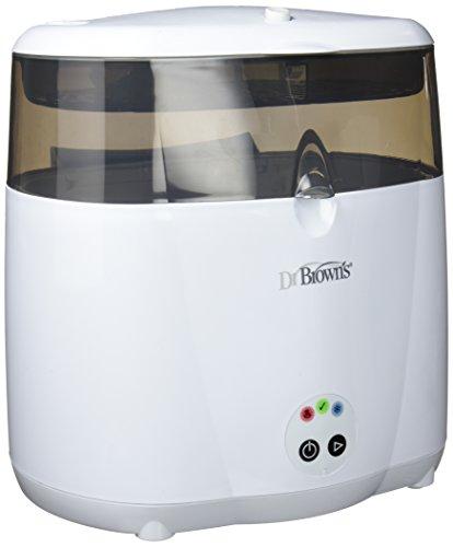 Dr. Brown's – Esterilizador Eléctrico a Vapor Deluxe para 6 Biberones