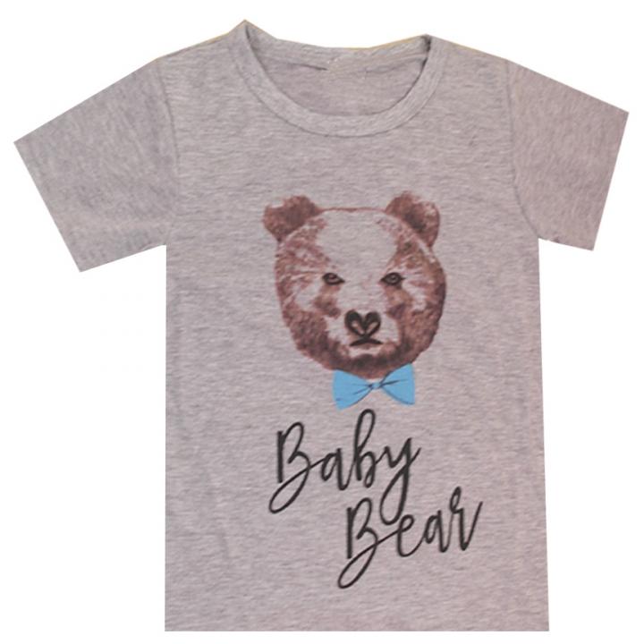 Polo Familia Niño - Baby Bear.
