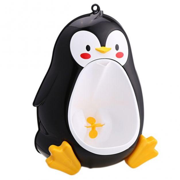 Alega - Urinario Pingüino negro
