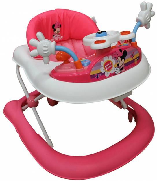 Disney Baby - Andador con bandeja electrica Minnie.