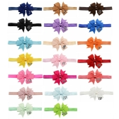 ROMYNE - Vinchas para niñas color entero
