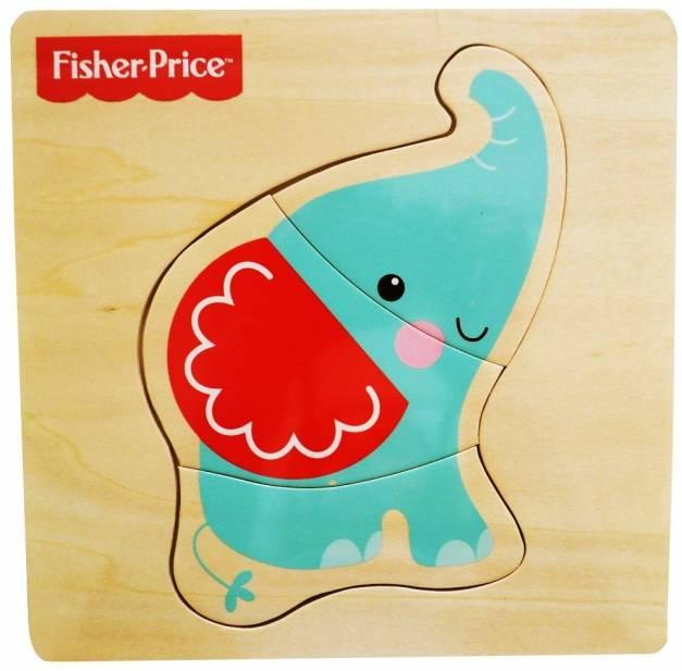 Fisher Price - Rompecabeza de Elefante.