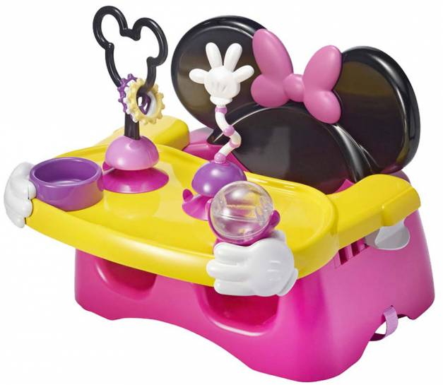 Disney Baby - Silla portatil con actividades Minnie.