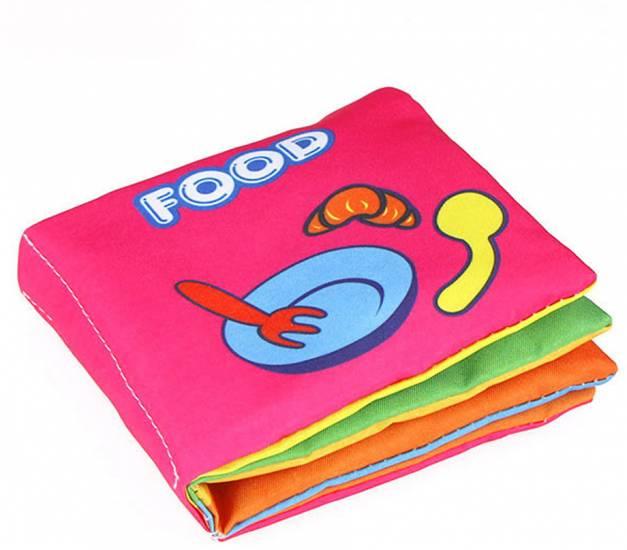 Libro de tela food